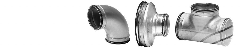 Metal ducting & fittings